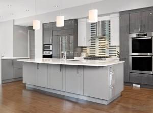 grey kitchen cabinets Toronto